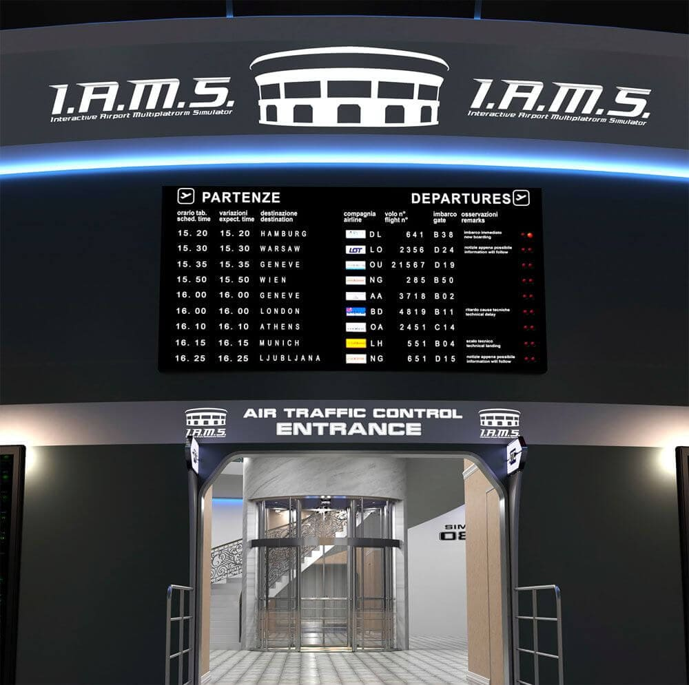 Interactive Airport Multiplatform Simulator | Flight