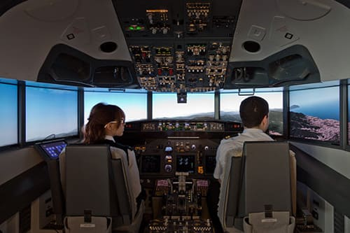 A.E.S. Airport Educational Simulator and Alitalia
