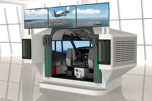 A.E.S. Airport Educational Simulator