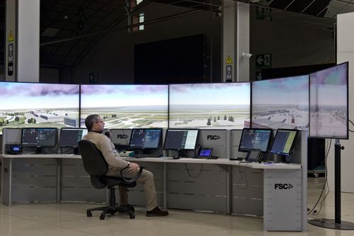 ATC educational simulator