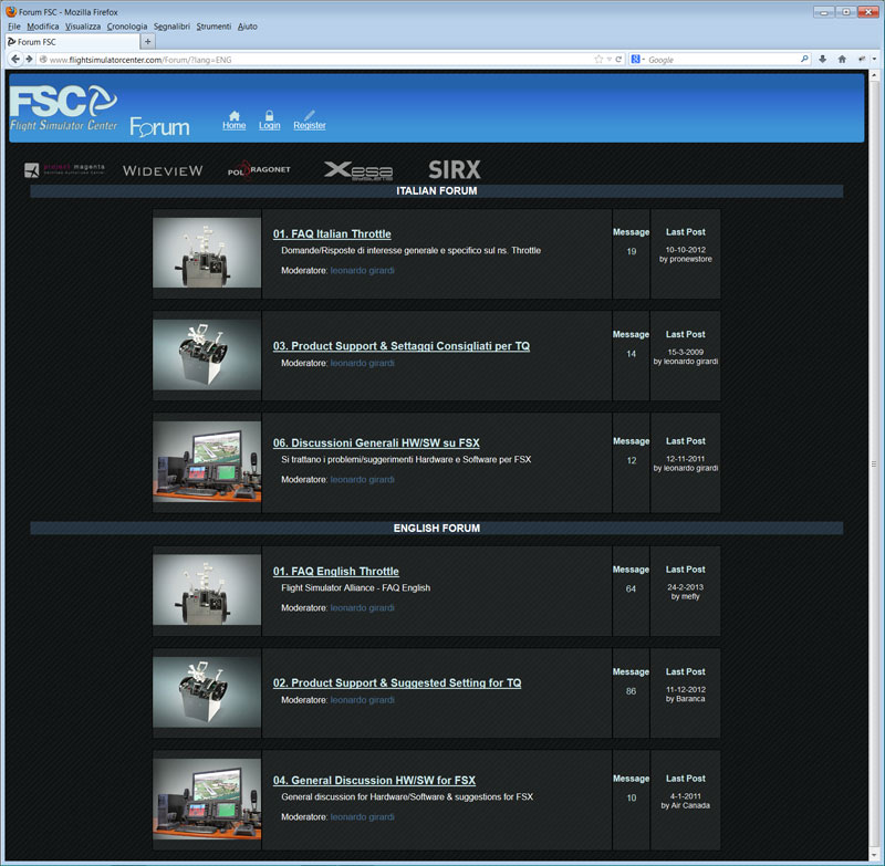 FSC FORUM screenshot