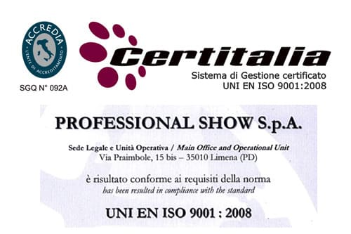 FSC QMS - ISO9001 2008 certification