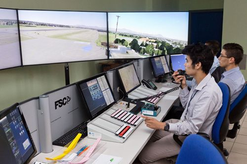 FIS simulator for Marconi Aeronautical college