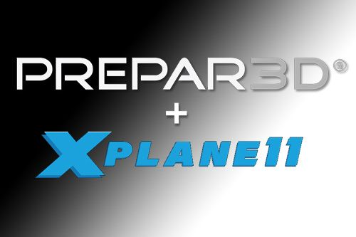 Integration of Prepar3D with X-Plane 11 visual