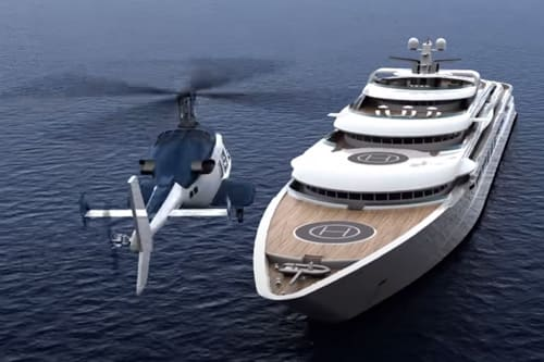 Yachts and flight simulators