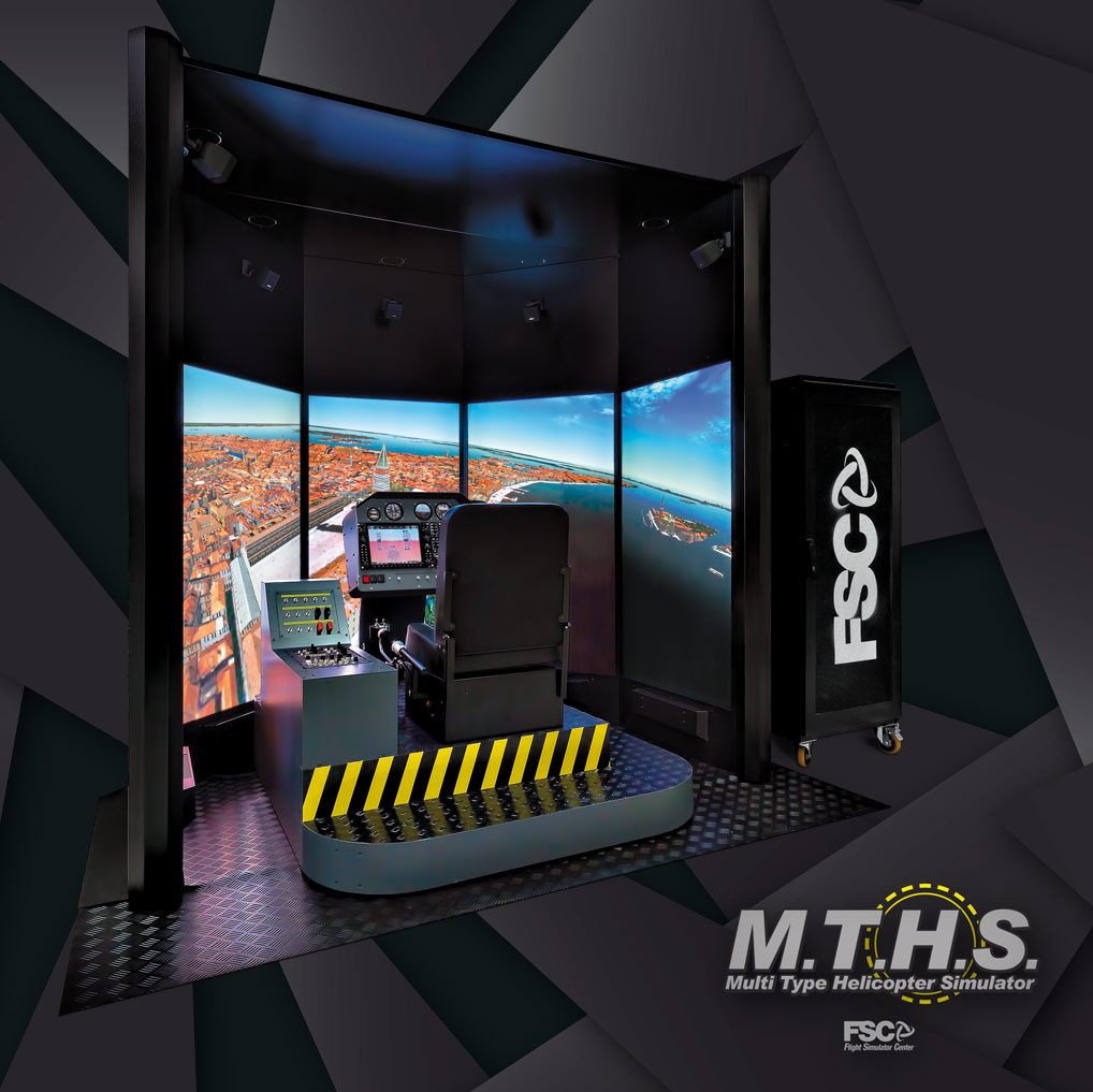 FSC MTHS HELICOPTER SIMULATOR 65""