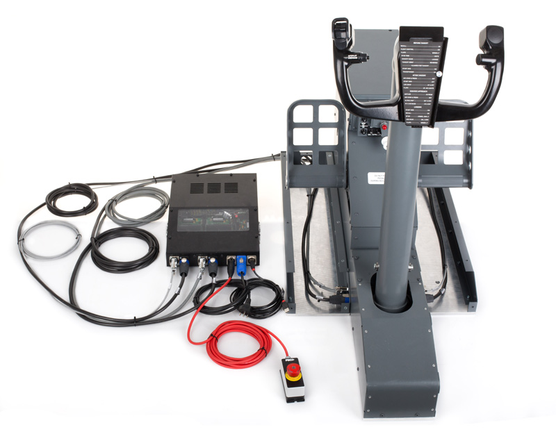 FSC-B737NG-YOKE-SINGLE-CONTROL-LOADING-WITH-RUDDER-PEDALS-CABLING-2