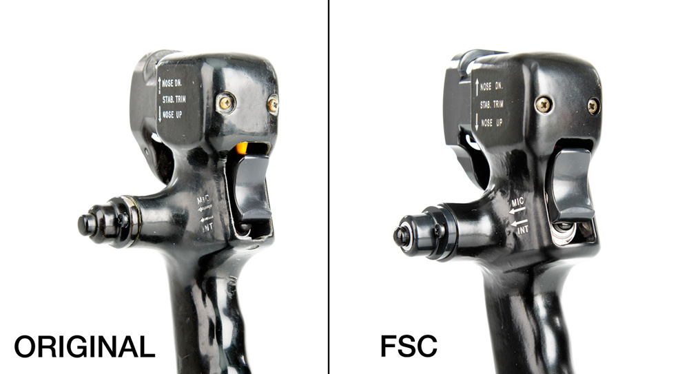 FSC AND BOEING B737 CONTROL WHEEL MIC INT SWITCH
