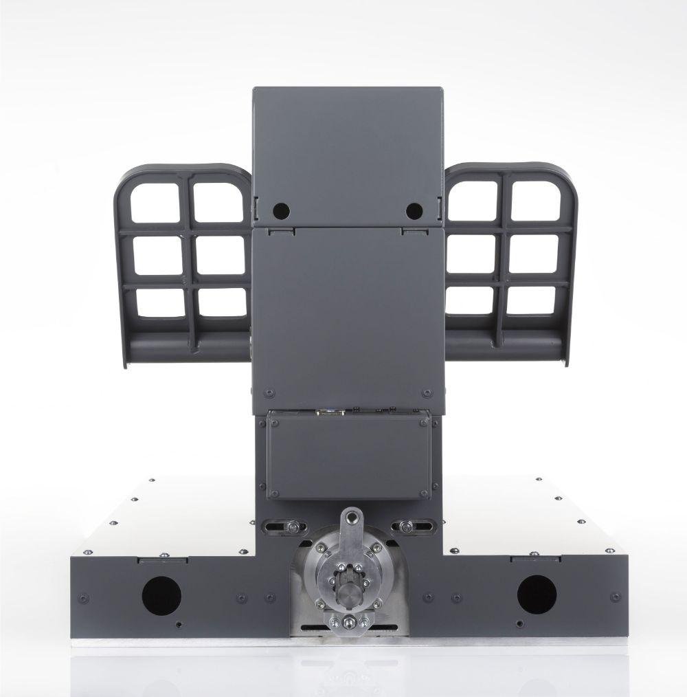B737 PRO rudder pedals upfloor - FO side   Flight Simulator