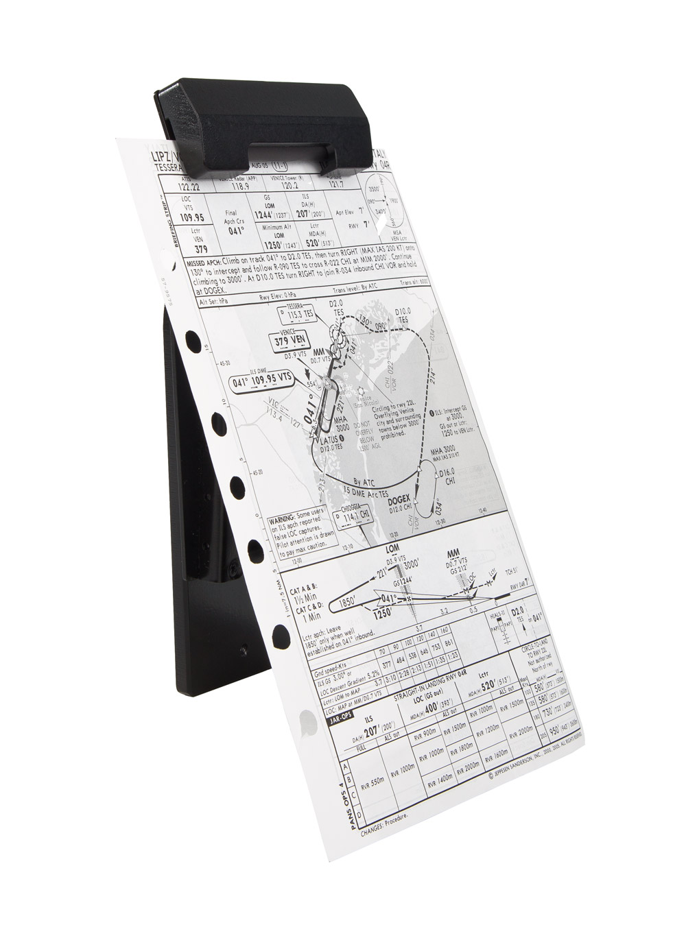 FSC-B737-Yoke-Wheel-Chart-Holder-WITH MAP