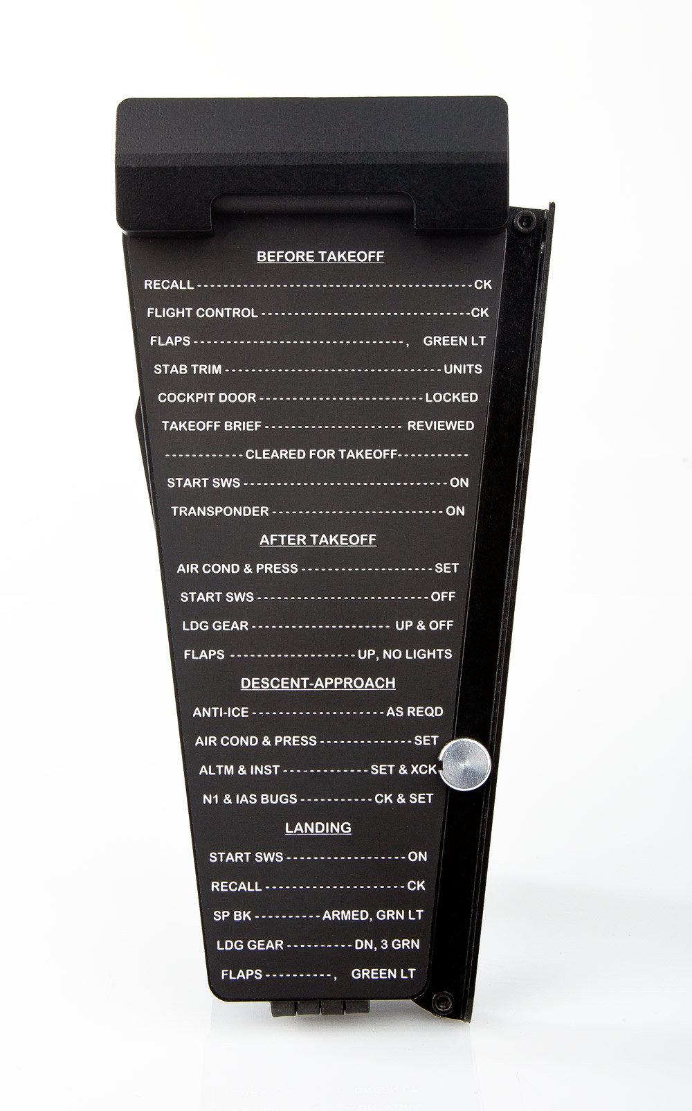 FSC-B737-Yoke-Wheel-Chart-Holder-FRONT