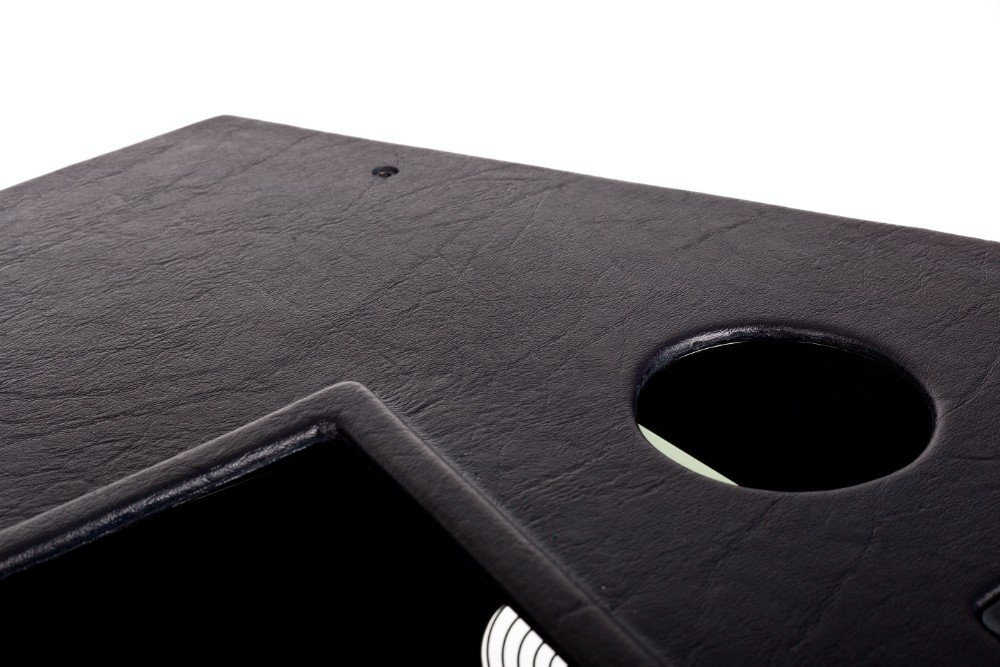 FSC A320 forward side console FO rubber texture