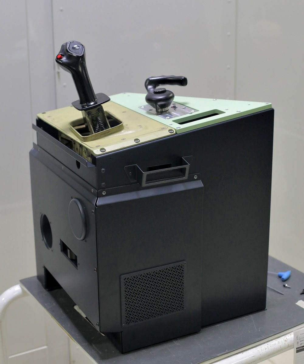 FSC A320 forward side console FO with original sidestick 2