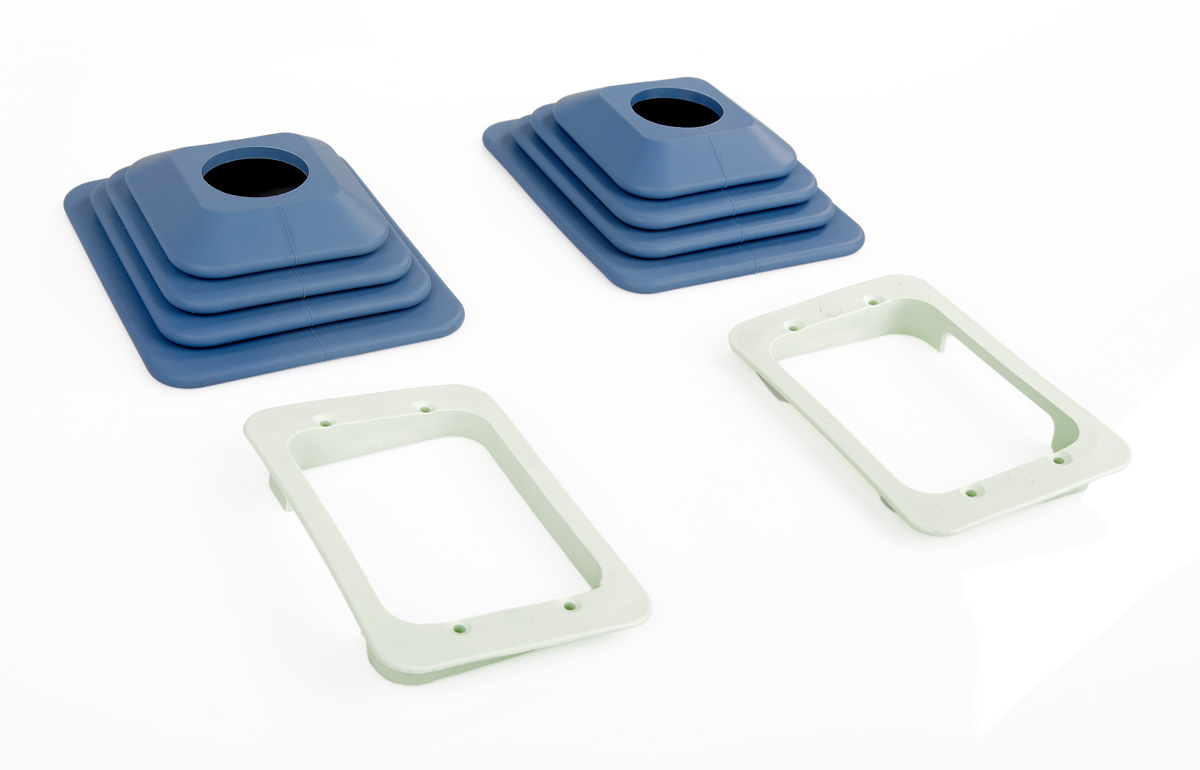 FSC A320 sidestick rubber gaiters with frames