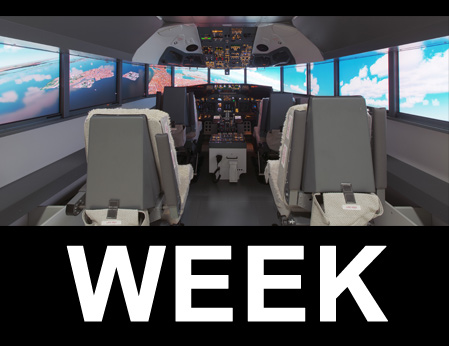 B737NG type simulator 4P/2K (1WEEK-RENT)