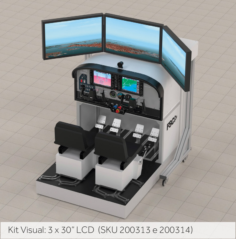 FSC MTGS 332 FSTD SIMULATOR VISUAL KIT 1