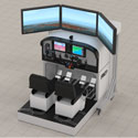 MTGS C172 Simulator FSTD X-Plane/Visual 2 Seats CTRL Load