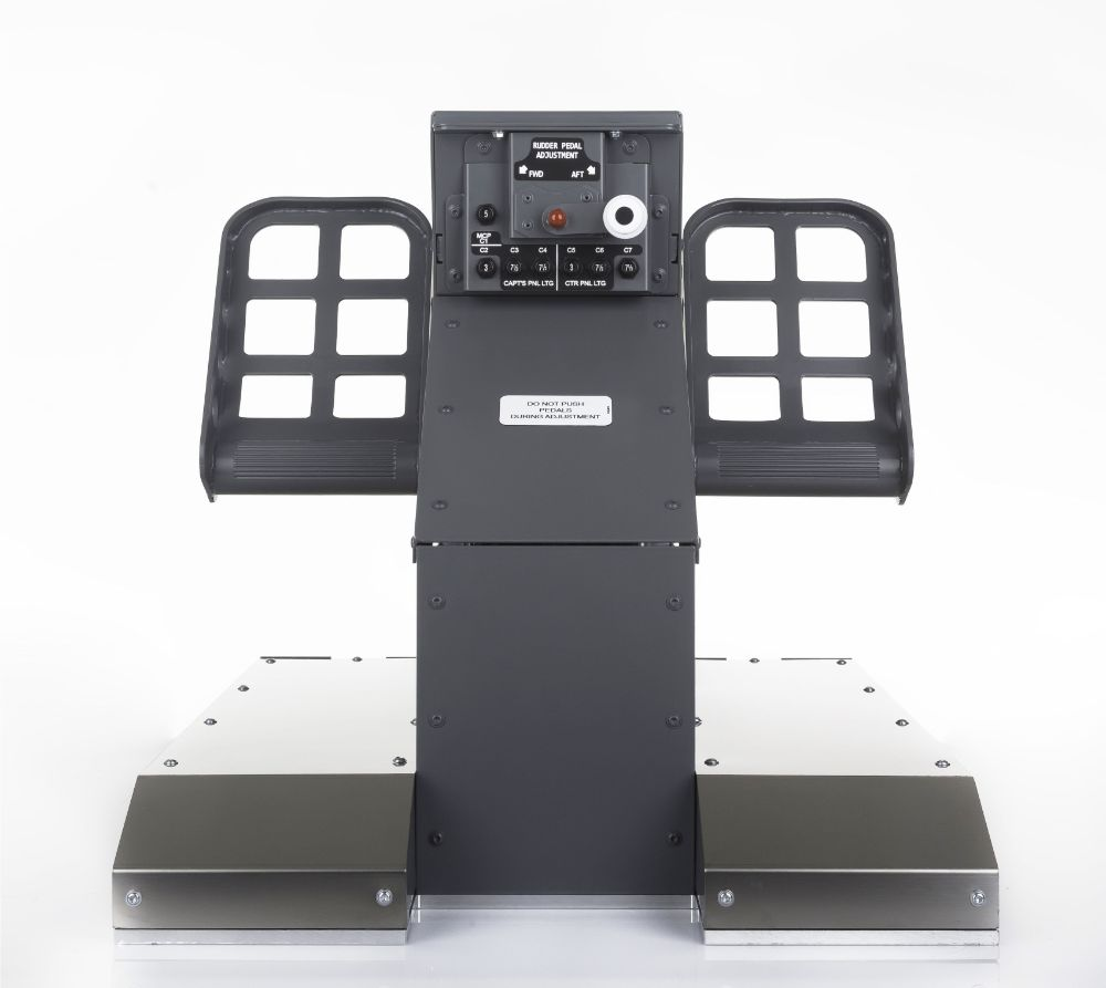 FSC B737NG UPFLOOR RUDDER PEDALS CPT FRONT