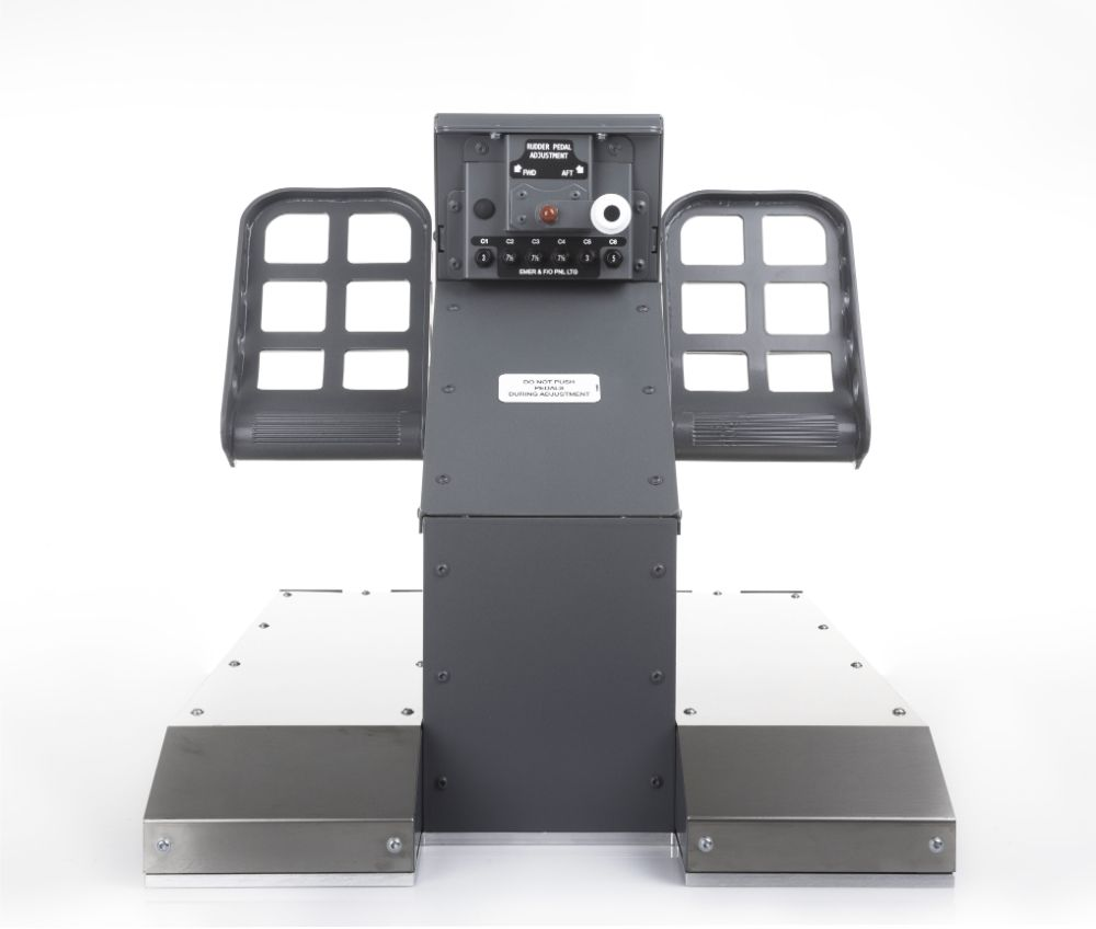 FSC B737NG UPFLOOR RUDDER PEDALS FO FRONT