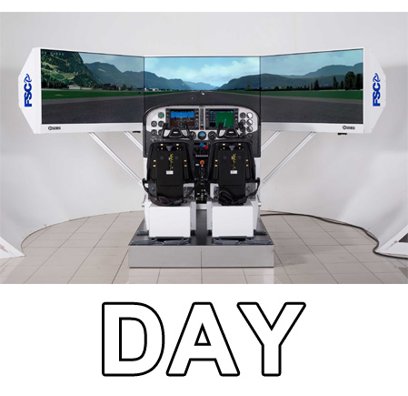 General Aviation Simulator 2P (1GIORNO-NOLO)