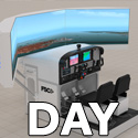 General Aviation Simulator 2P (1DAY-RENT)