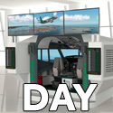 B737NG type simulator 2P/4K UHD (1DAY-RENT)