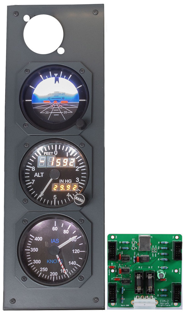 B737NG MIP STANDBY GAUGES KIT 1