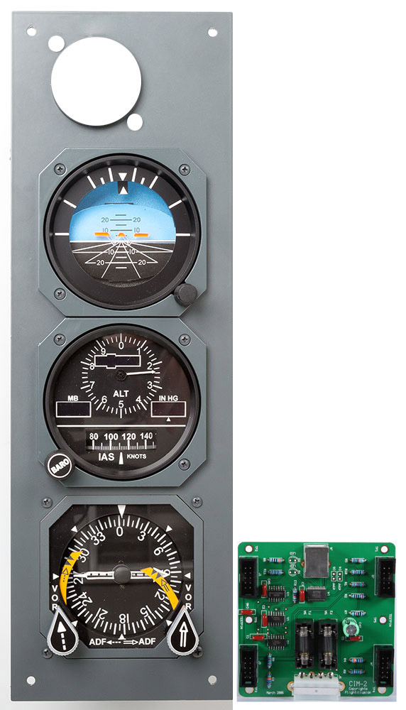B737NG MIP STANDBY GAUGES KIT 2