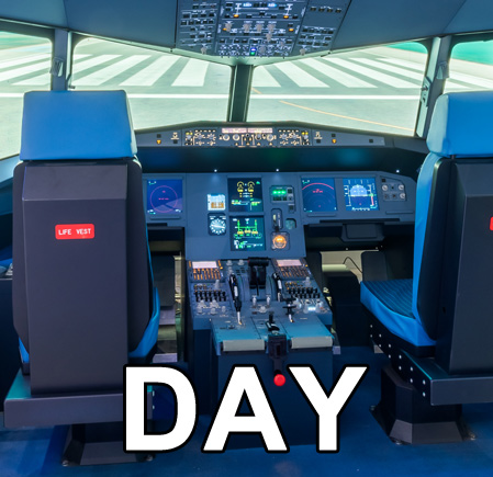 A320 type simulator 2P/2K (1DAY-RENT)