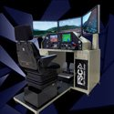 Multi Type General Aviation System, FSTD With G1000 , 105° Visual with 3 monitors, Prepar3D