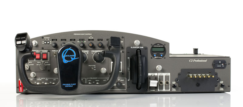 Cirrus II pro Flight Console with 737 Yoke