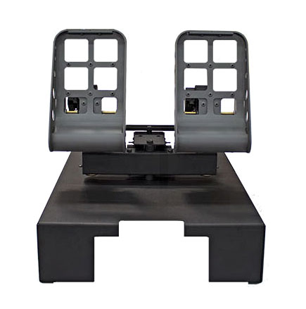 FSC PFC SINGLE PROFESSIONAL RUDDER PEDALS (BOEING STYLE)