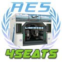 737NG Airport Educational Simulator 11 monitor visual, 4 seats