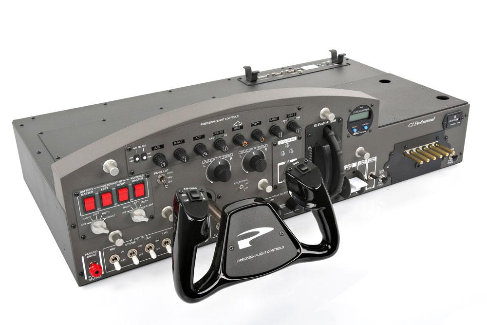 Cirrus II pro Flight Console with Beechcraft Yoke | Flight