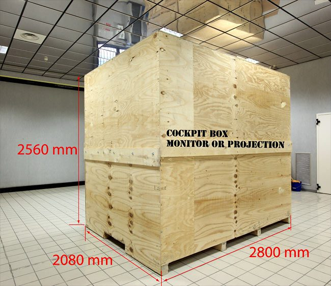 Crate Measures for shipment