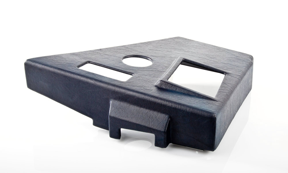 FSC A320 FORWARD LATERAL CONSOLE CPT RUBBER TOP 34