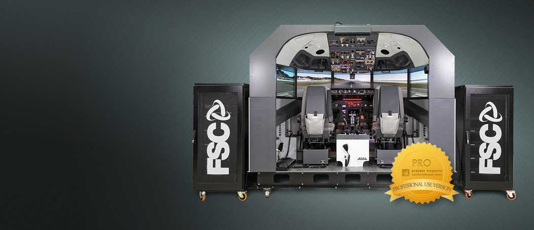737NG Simulator , 180° 7 monitor 2K Visual