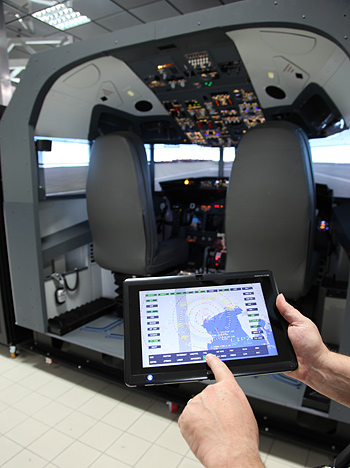 FSC B737 INSTRUCTOR STATION TABLET