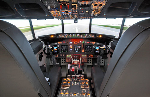 Hammer Events brings a B737NG to your door    Flight