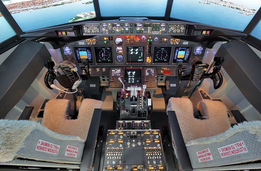 FSC B737 MIP GLARESHIELD COCKPIT