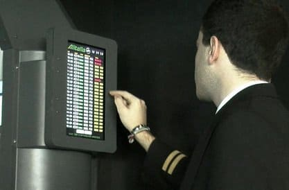 FSC AES B737 BOOKING TABLET TOUCH
