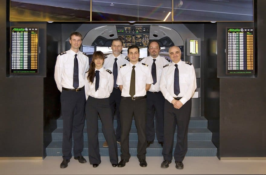 FSC B737 AES airport educational simulator crew