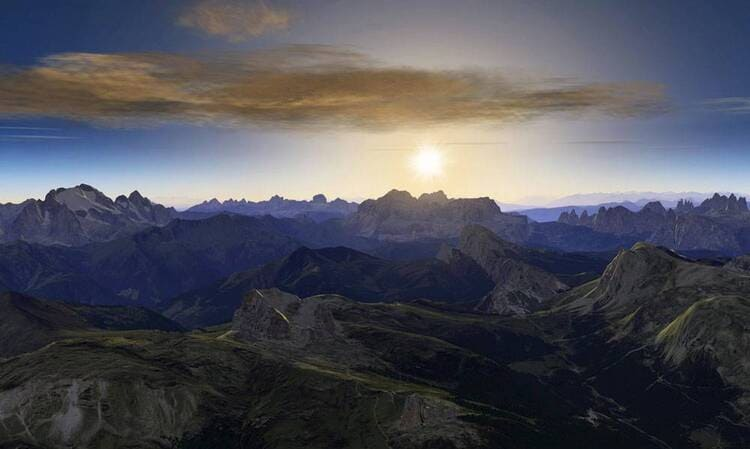 FSC DOLOMITI 3D SUNSET1