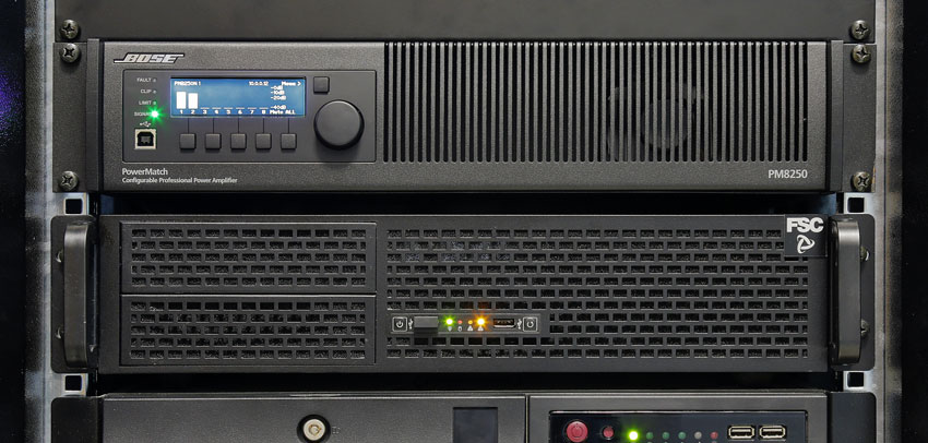FSC B737 MAS AUDIO SYSTEM SERVER