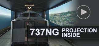 737NG projection inside
